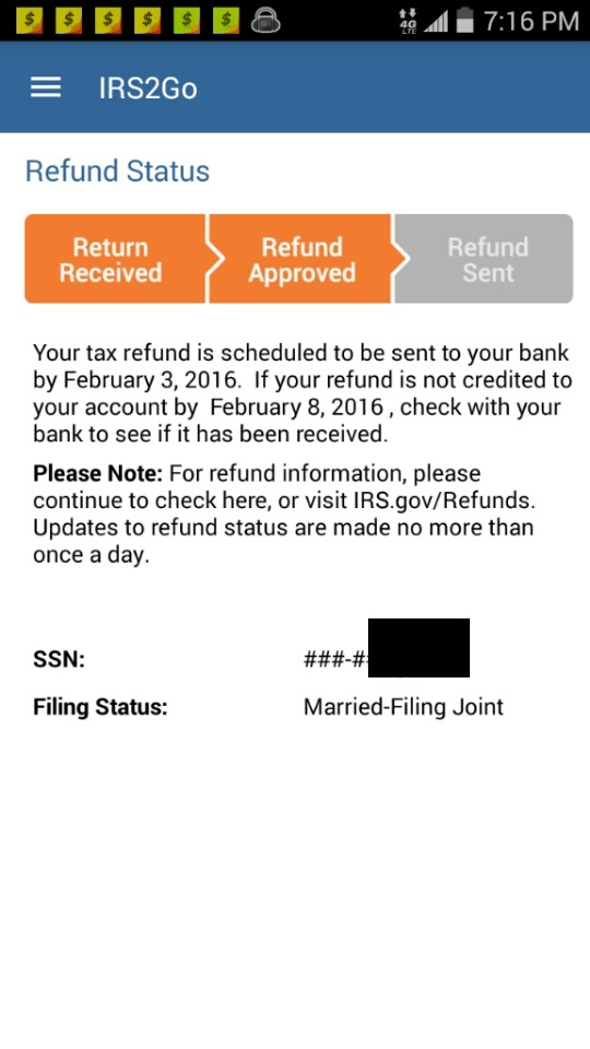 IRS Refund Schedule 2019 - Refund Cycle Chart